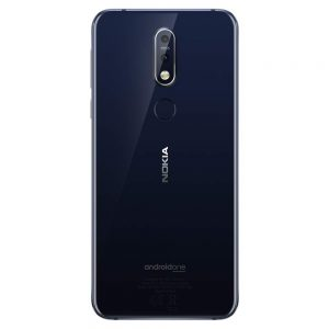 Nokia 7.1 backside