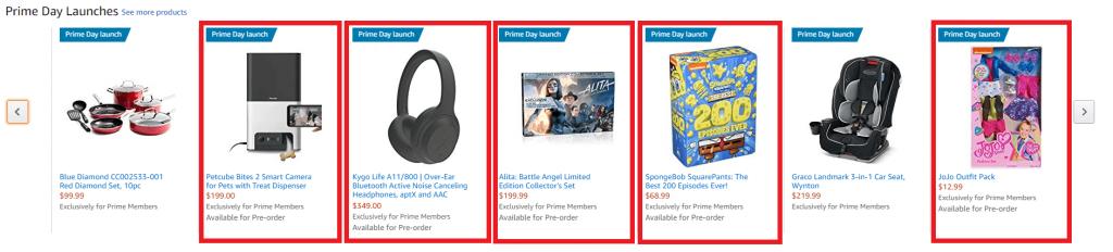 Amazon Prime Preorder